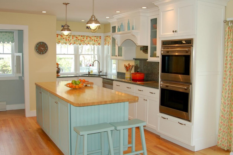 Jill's Blue & Yellow Kitchen — Small Cool Kitchens 2012