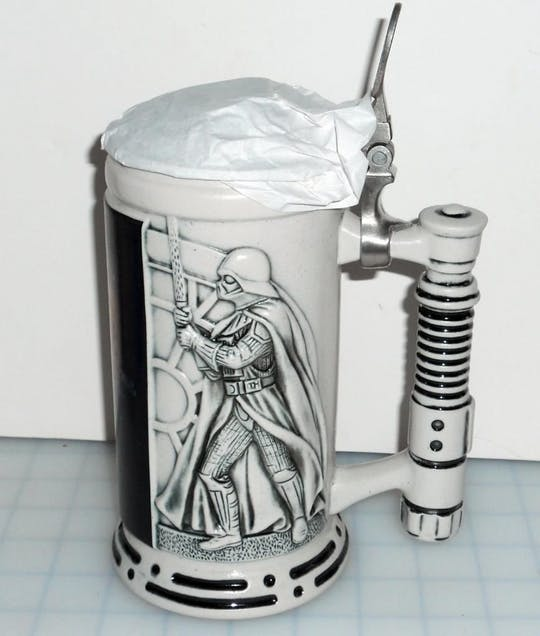 Gwiazda Wars Ceramic Beer Stein - 1998 Limited Edition