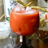recept: Jalapeño Bloody Mary with Quick Pickled Vegetables