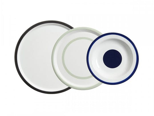 Smaltovaný Metal Dishes from Merci