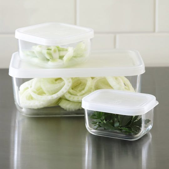 Frigoverre Glass Storage Containers