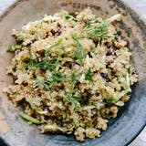 Citrón Quinoa with Currants, Dill, and Zucchini