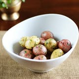 recept: New Potatoes with Herbs and Anchovy Butter