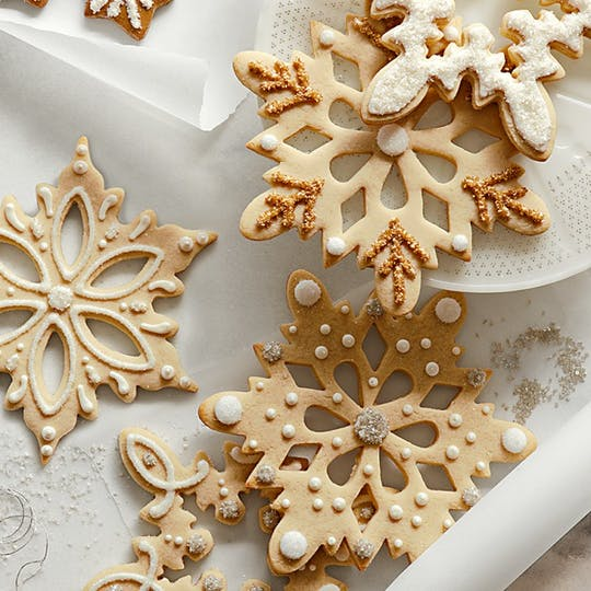 Obor Snowflake Cookie Cutters from Williams-Sonoma